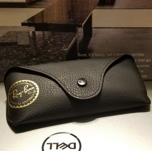 Ray-ban empty Black Leatherette (Sunglasses case)